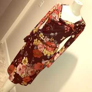 MNG Collection Floral Dress